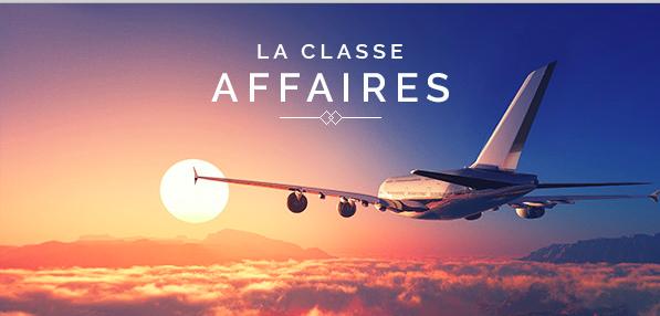 Classe Affaires Voyage Privé