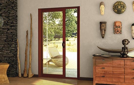 Mêmes prodigieuses garanties pour une porte-fenêtre que pour une porte d'entrée Tryba !