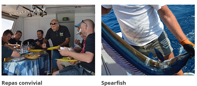 De bonnes journées de pêche au gros sur le bateau Annett